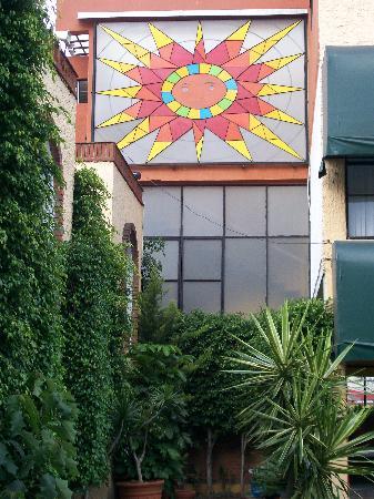 Villa del Sol Morelia Hotel and Suites: Villa del Sol Stained Glass