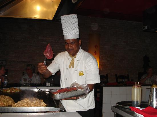 Occidental Caribe: uglo notre chef au resto tokio