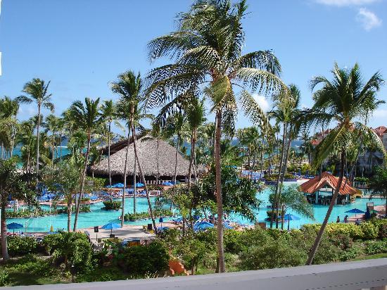 Occidental Caribe: vu de la piscine du 3e étage