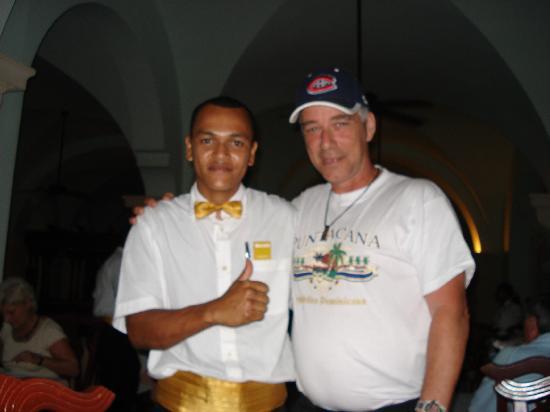 Occidental Caribe: serveur du resto alcazar