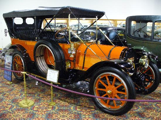 The Nethercutt Collection: I'm always a pushover for an orange car...even a Pope-Hartford!