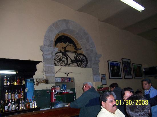 Cantina La Fuente: The legendary bicycle