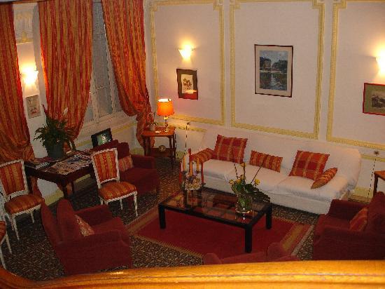 Hotel du Simplon: Lobby