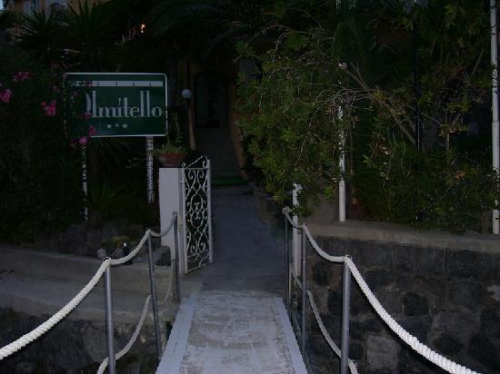 Albergo Olmitello : l'entrata