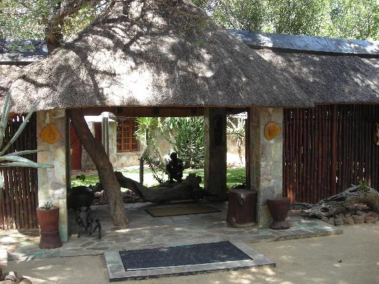 Kapama Private Game Reserve, Sør-Afrika: Buffalo Camp Entrance