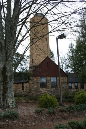Crossville, TN: A view of the Cumberland Homestead water tower
