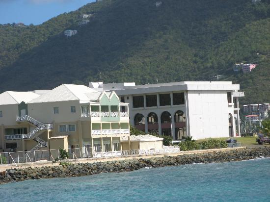 Maria's by the Sea: Hotel from the water
