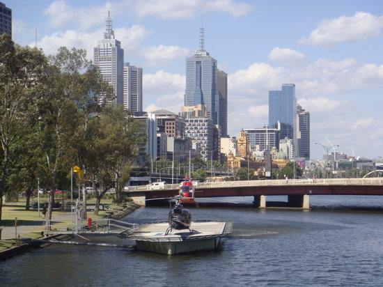 Melbourne, Australië: The Yarra River