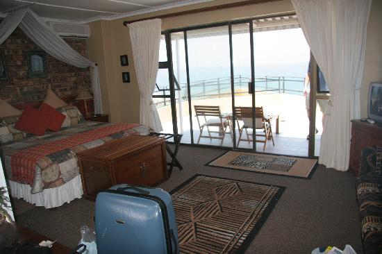 The Albatros Guest House: Our room had a big, private balcony