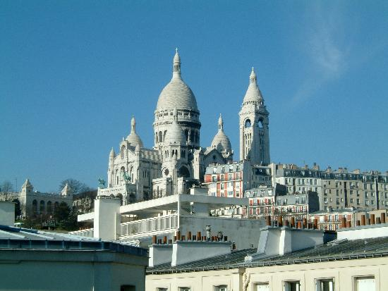 BEST WESTERN Hotel Le Montmartre Saint Pierre: Vista dalla camera di mattina