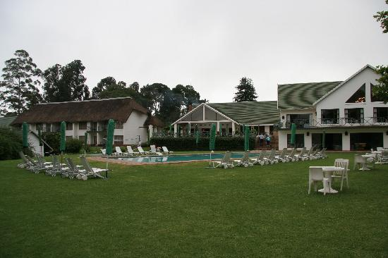 Winterton, Sydafrika: Buildings at the Champagne Castle hotel