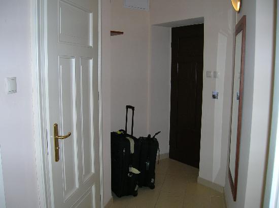 Red Brick Apartments: Hallway