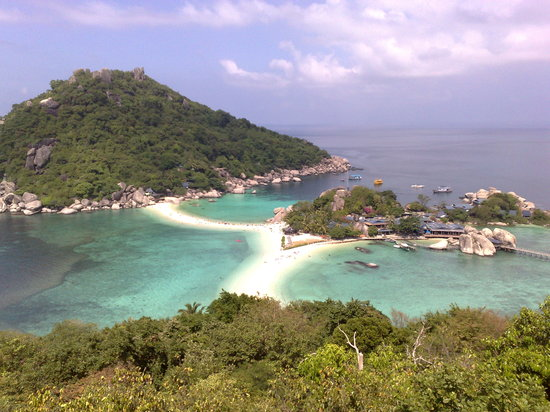 Koh Tao, Thailand: This is what you'll see