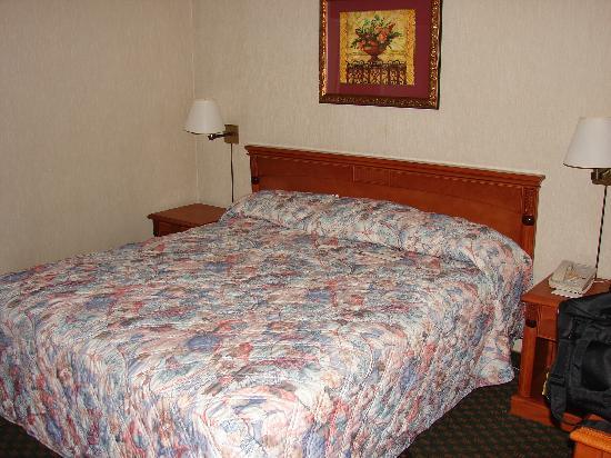 Vagabond Inn Chula Vista: Bed