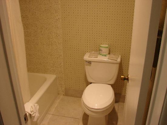 Vagabond Inn Chula Vista: Toilet & Tub