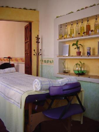 Portal Villa San Francisco Hotel: area de spa