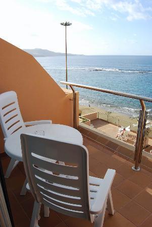Hotel Exe Las Canteras : Dunas Canteras balcony