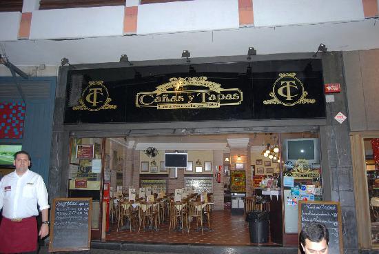 Hotel Exe Las Canteras : Tapas in Las Palmas