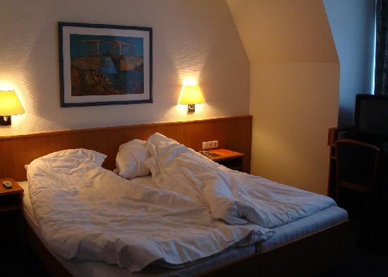 Bed at Hotel Aulmann