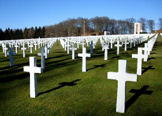 American Cem. in Luxembourg abt 30 min away