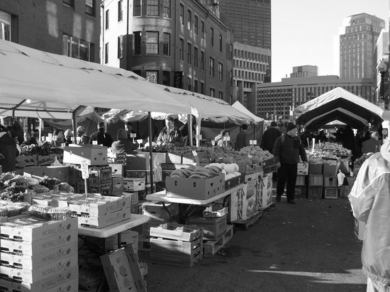 Boston, MA: Farmers Market