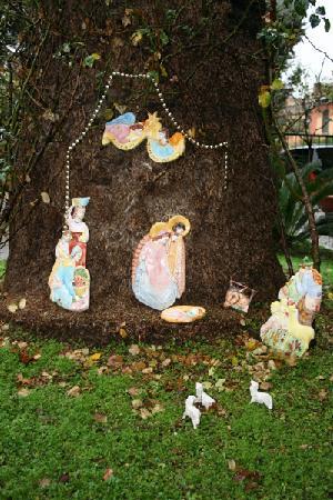San Giuseppe Della Montagna : christmas decoration