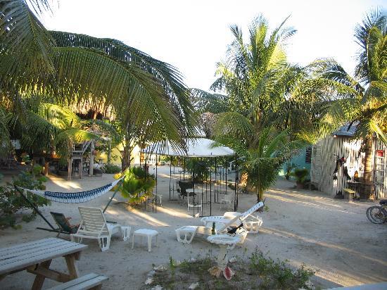 Maxhapan Cabanas: View from veranda