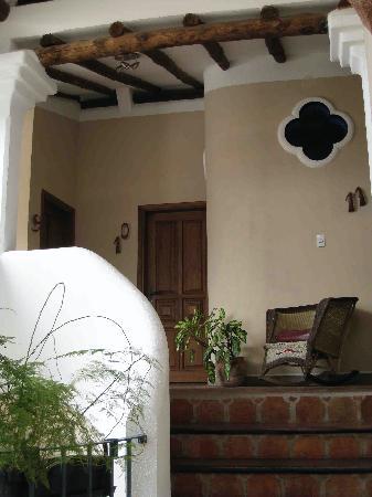 Posada Casa Sol: looking towards my room