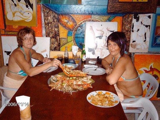 Hotel Riu Naiboa: La mariscada del capitan Coop