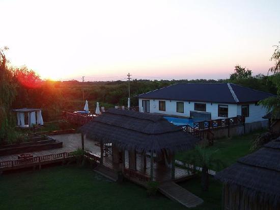 Rumbo 90 Delta Lodge & Spa: Rumbo90-Atardecer