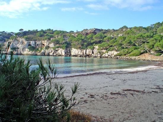 Ciutadella, Spain: La Macarella, sin nadie a la vista