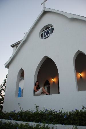 Club Peace & Plenty Exuma Island : Hilltop Church near Peace & Plenty