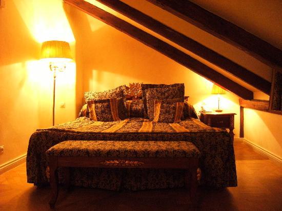 Hotel Residence Green Lobster: upstairs bedroom