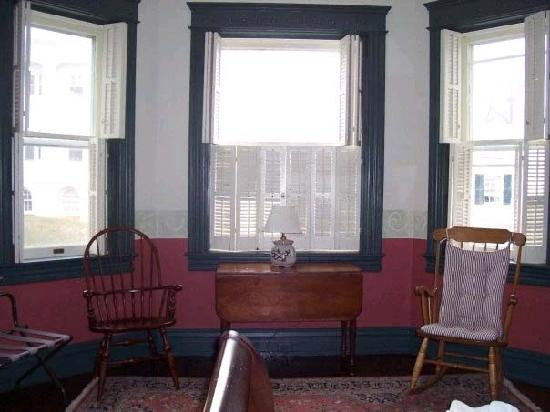 Frederick House: Part of master bedroom