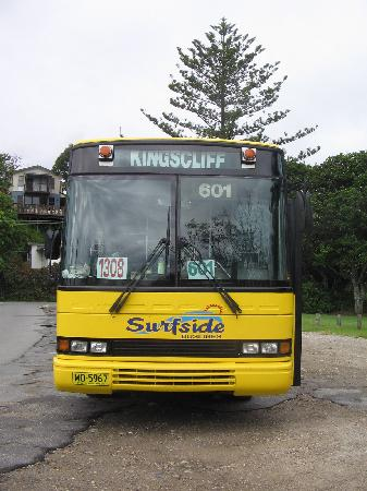 Marine Boutique Apartments: Bus
