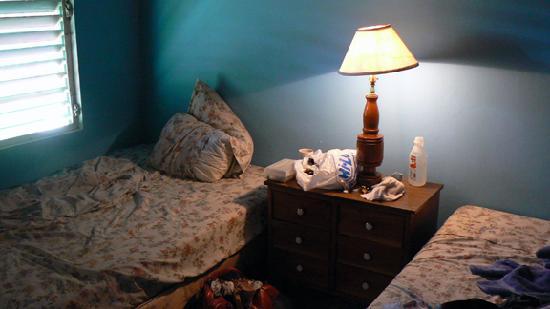 The Yellow Bird: bedroom