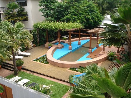 Freestyle Resort Port Douglas: view from out balcony