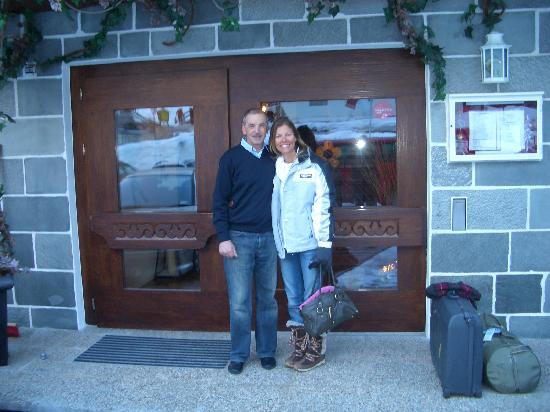 Hotel Grischuna: Raimond and me