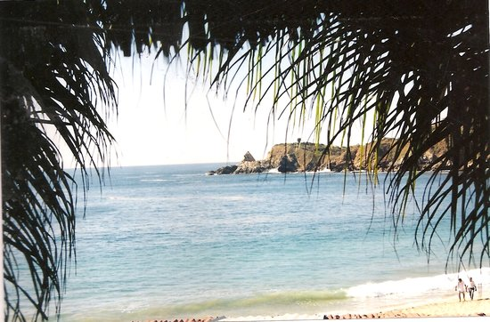 Oaxaca, Mexico: view from ten dollar room in mazunte