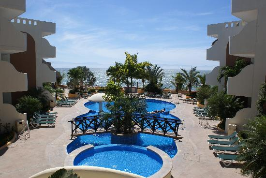 Riviera Nayarit, Mexico: View from the reception area