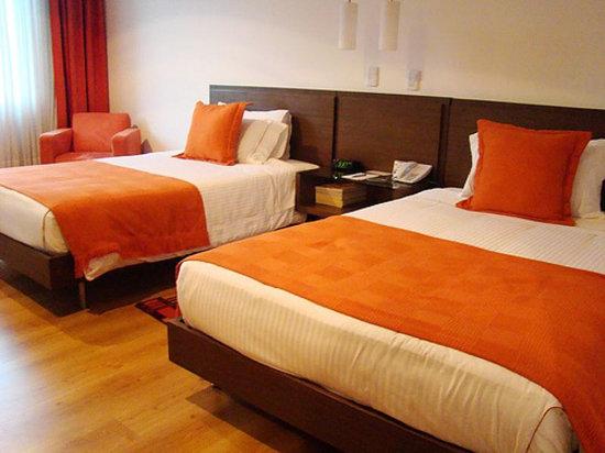 Hotel Poblado Alejandria: Bedroom at Poblado Alejandria