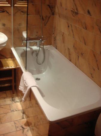 Hotel de Fleurie: tub
