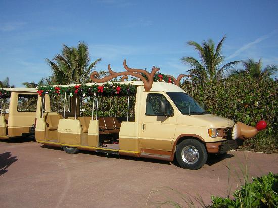 Castaway Cay: The Tram