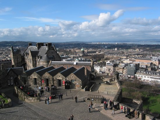 Edinburgh - Edinburgh Castle - Views To Edinburgh