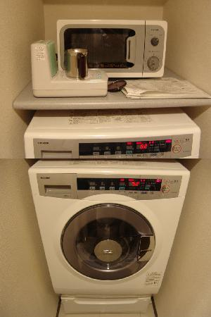 Tokyu Stay Gotanda: Microwave, Hot Pot, Washer & Dryer