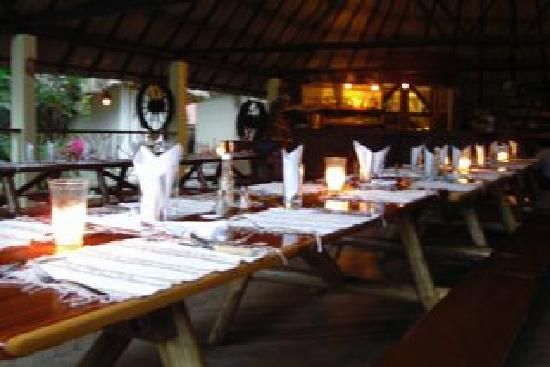 Black Rock Lodge: Abendessen