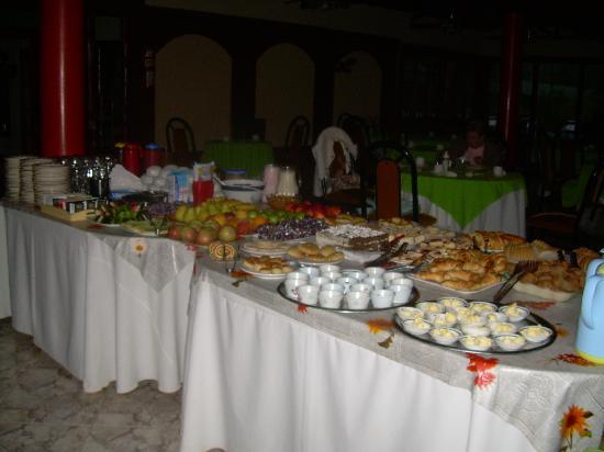 Hotel Nitra II: el desayuno completísimo
