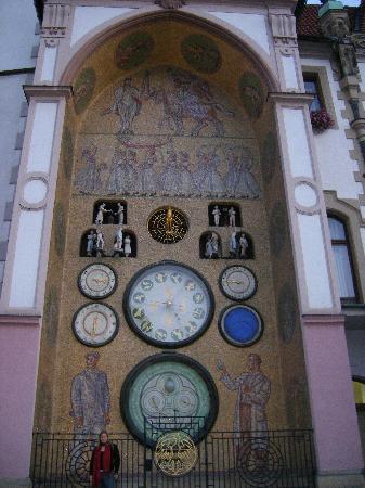 Cosy Corner Hostel: Astronomical Clock in Olomouc