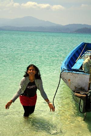Havelock Island, India: feel the water
