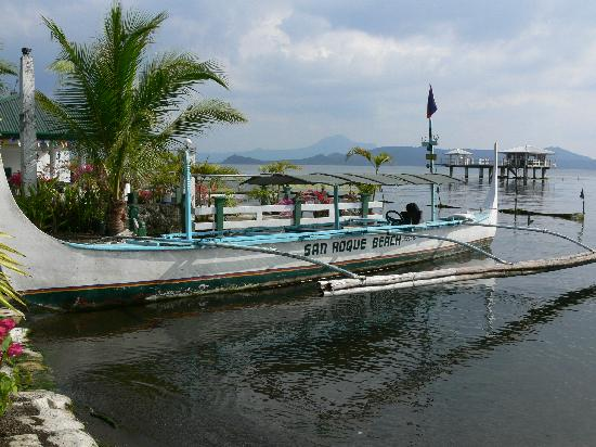 San Roque Paradise Hotel: Their boat